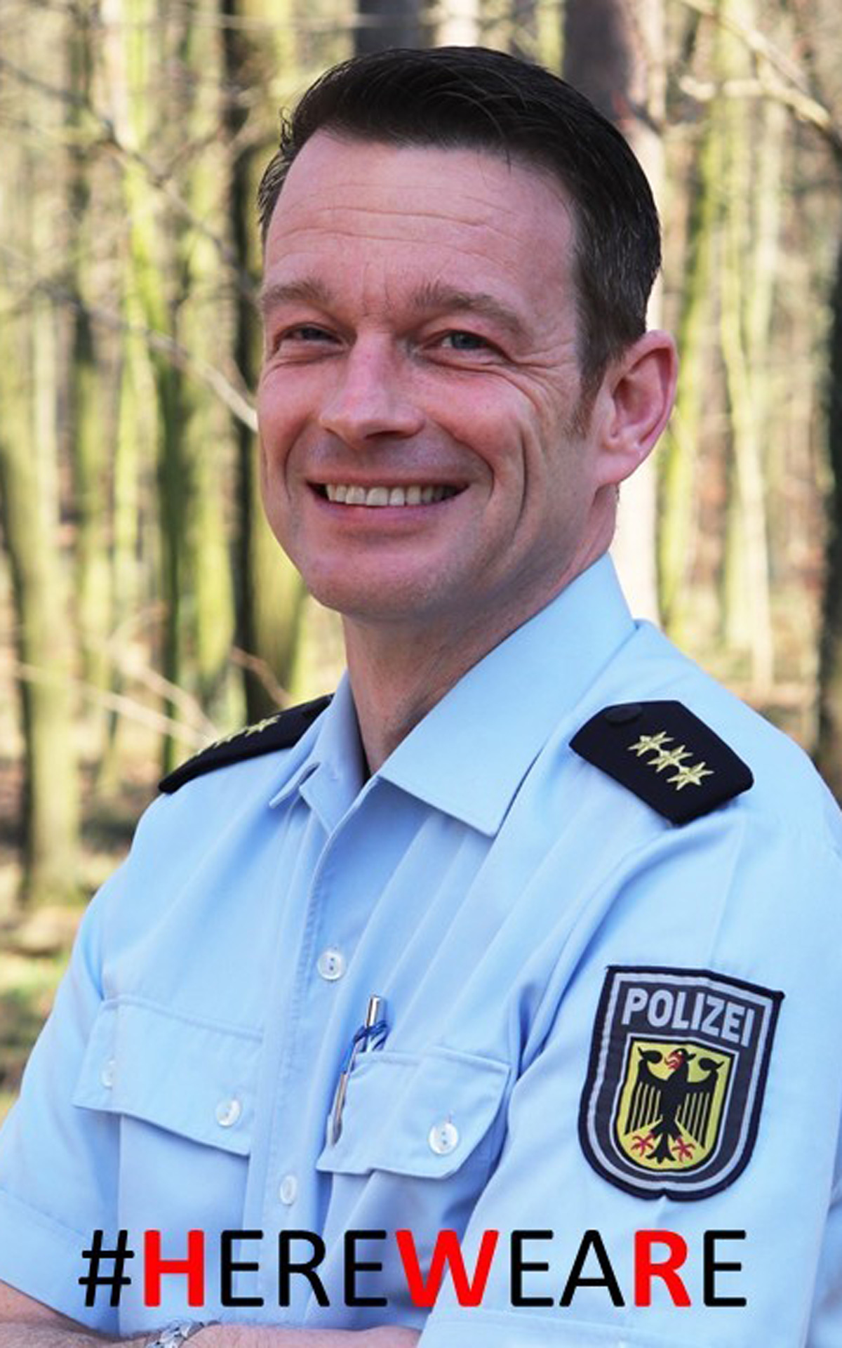 Moritz Wieck, Lecturer, Department 5 Police and Security Management